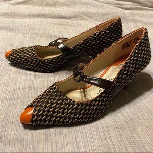 Isabel Toledo Shoes - Isabel Toledo tweed kitten heels